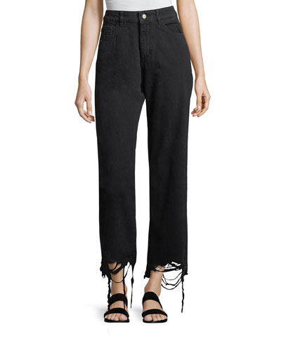 Hepburn High-Rise Wide-Leg Jeans
