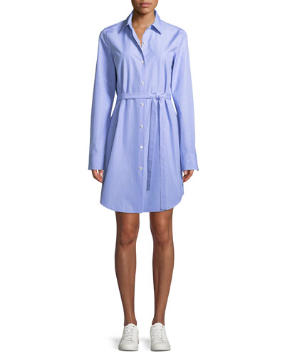 Clean Button-Down Crowley Cotton Shirtdress