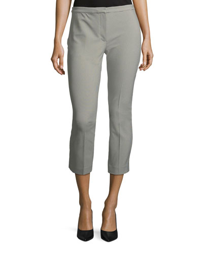 Classic Skinny Straight-Leg Ankle Pants