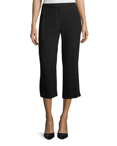 Lisa Cropped Straight-Leg Pants