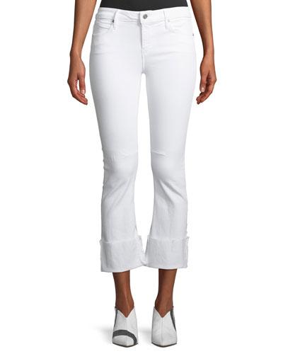 Duchess Mid-Rise Flared-Leg Jeans