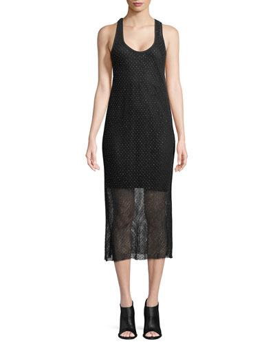 Terry Sleeveless Tank Dress