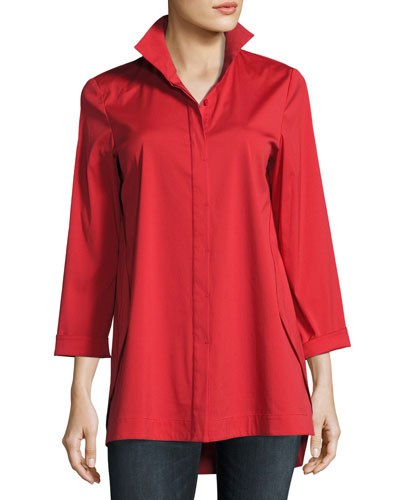 Stretch Cotton Marla Shirt