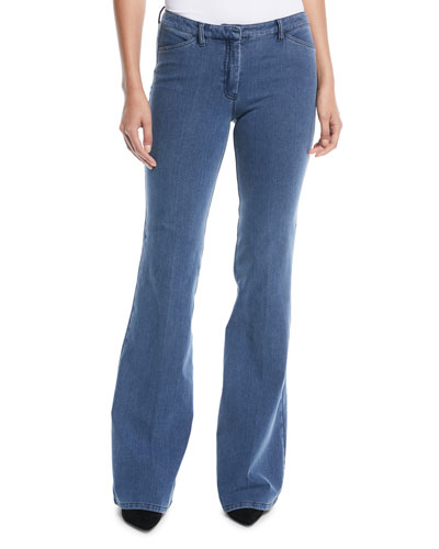 Demitria 2 D Movement Flare Denim Jeans