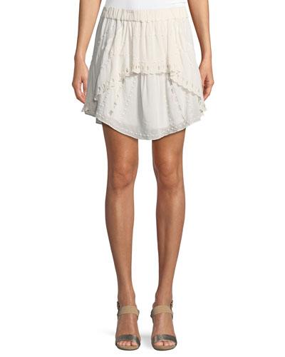 Pabey A-Line Short Skirt