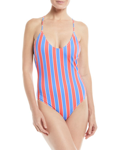 b36d085b2a2c3 Italian One Piece Swimsuit | bergdorfgoodman.com