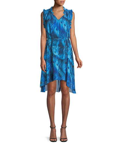 Balere High-Low Sleeveless Dress