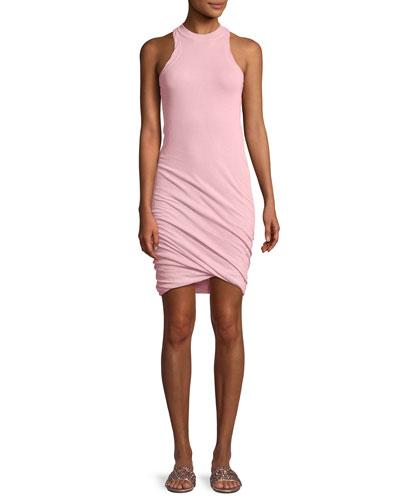 Twisted-Yarn Muscle Tank Dress