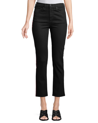 High-Rise Cigarette Ankle Jeans