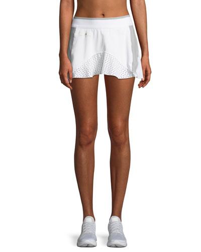 Barricade Laser-Cut High-Performance Skirt w/ Built-in Shorts