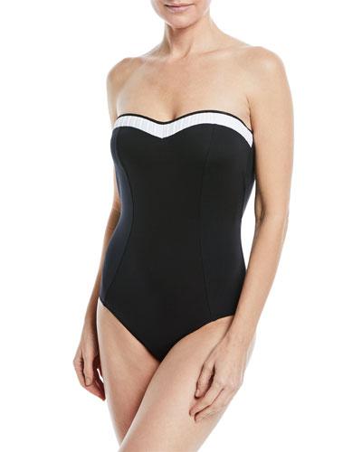 Classique Bandeau One-Piece Swimsuit