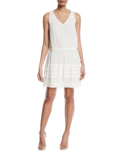Melanie V-Neck Sleeveless Dress