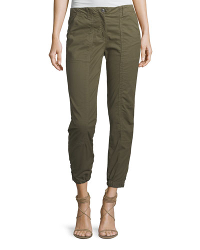 Field Cropped Stretch-Cotton Cargo Pants