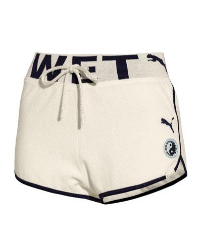 Terry Cloth Dolphin Shorts