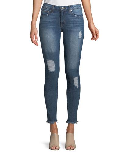 Devi Mid-Rise Authentic Skinny-Leg Jeans