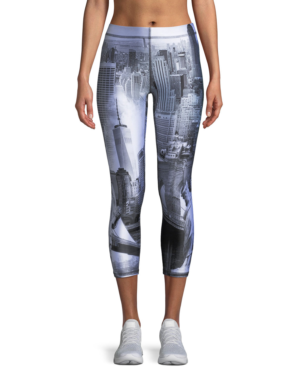 Concrete Jungle Capri Leggings