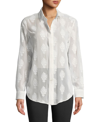 Essential Button-Down Coastal Shirt