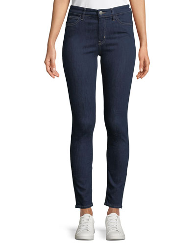 Bridge High-Rise Skinny Ankle Jeans