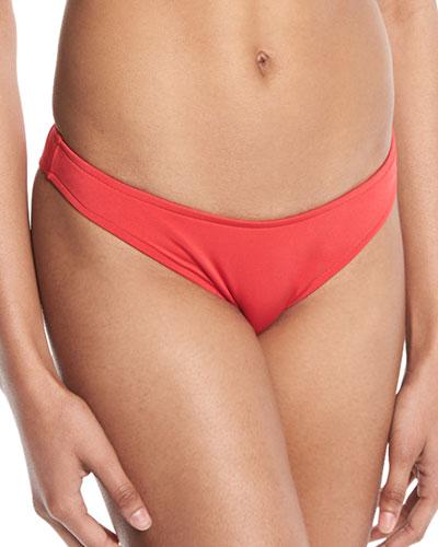 High-Cut Brazilian Swim Bikini Bottoms