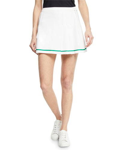 Tech Twill Pleated Tennis Skirt