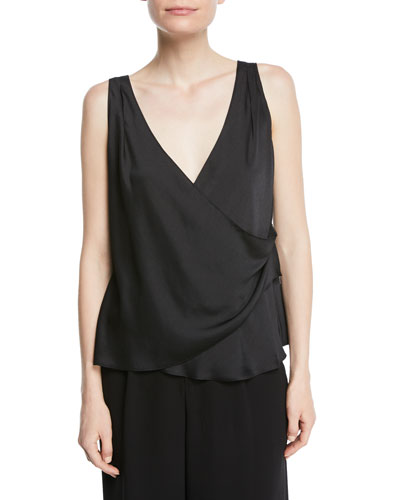 V-Neck Wrap Tank Top
