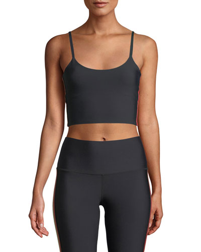 Practice Cropped Side-Stripe Cami