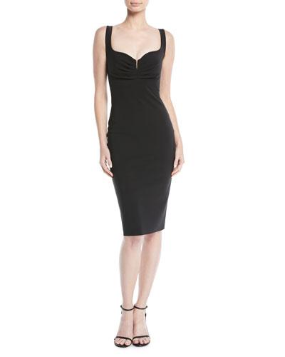 Ceyda Sweetheart Sleeveless  Cocktail Dress
