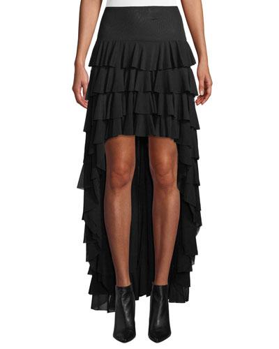8f2deee023 Designer High Low Hem Skirt | bergdorfgoodman.com