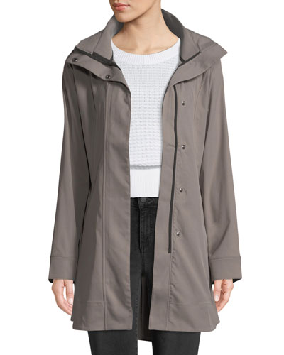 Signature Woven Trench Coat