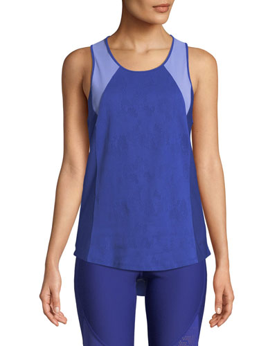 Vanish Open-Back Mesh Tank