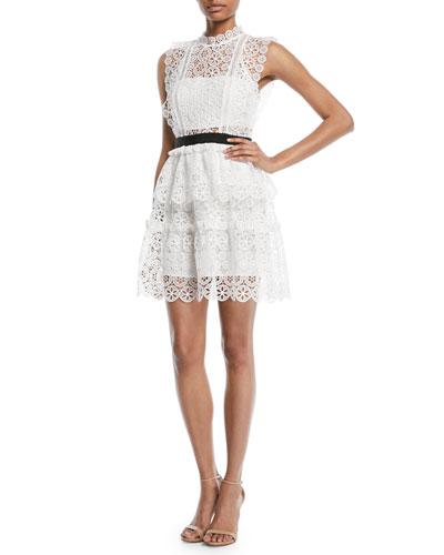 Self Portrait Lace Dress