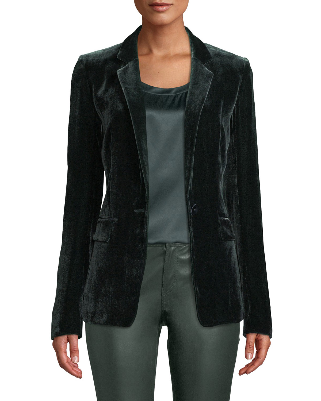 Lyndon Classic Velvet Jacket