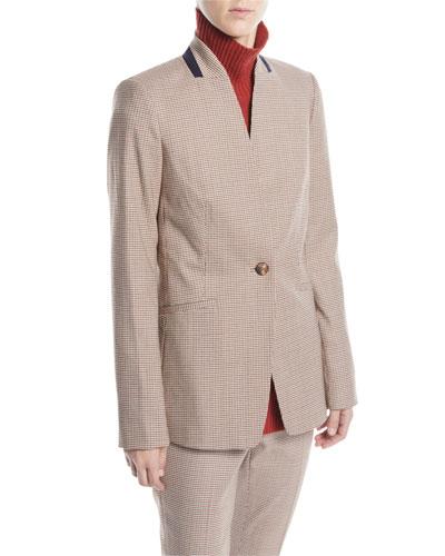 Darcy Haberdashery Mini Check Jacket