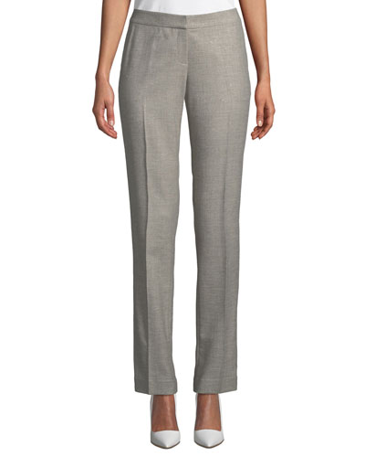a0d90b6e9e5 Stardust Wool Suiting Straight-Leg Pants
