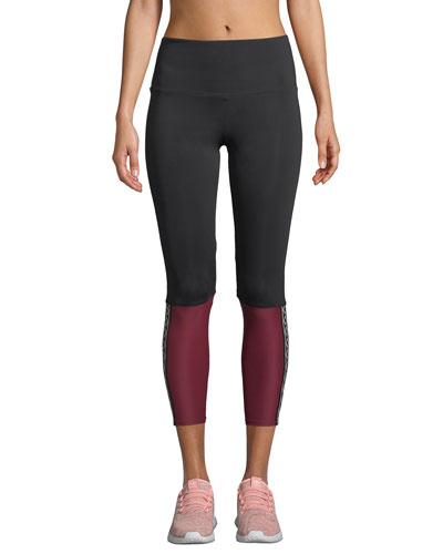 Olympian High-Rise Colorblock Performance Leggings