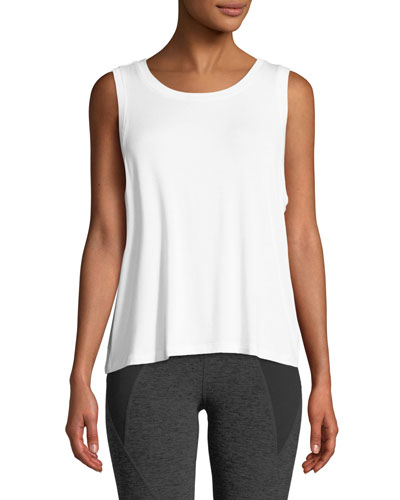 Balanced Scoop-Neck Muscle Tank