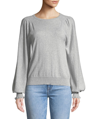 fd2faf6925596d Edenka Blouson-Sleeve Sweater Quick Look. Joie