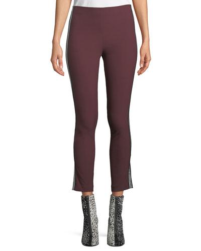 Simone Cropped Ponte Pants