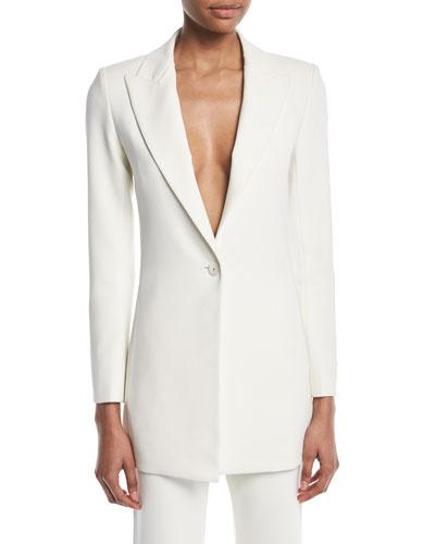 Alto Single-Button Jacket