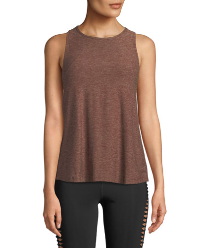 Lightweight Open-Back Scoop-Neck Tank