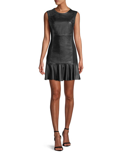 622bd9d1c3 Silhouette Leather Dress | bergdorfgoodman.com