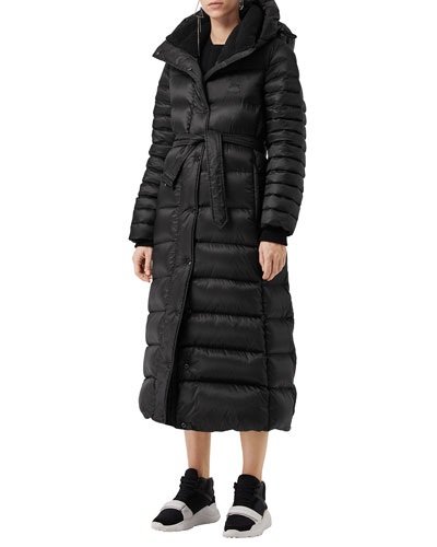 23e9f450a808 Single-Breasted Belted Puffer Coat Quick Look. Burberry