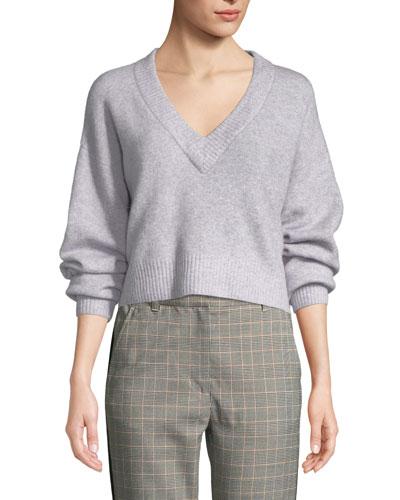 7909a5b3ff76 Lofty Alpaca-Blend V-Neck Pullover Sweater Quick Look. 3.1 Phillip Lim