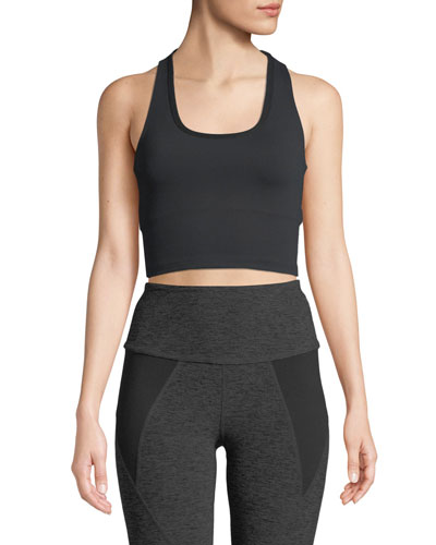 Mirage Cropped Activewear Tank