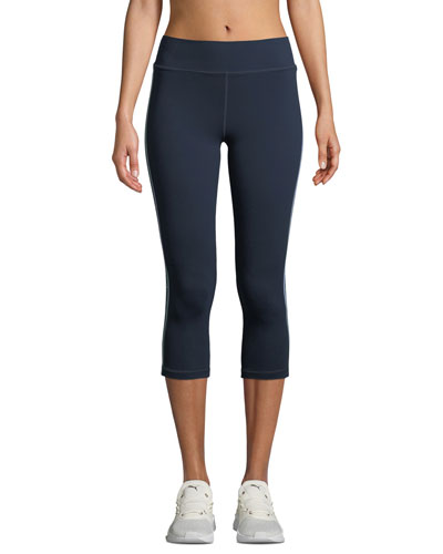 Indigo Matte NYC Cropped Leggings