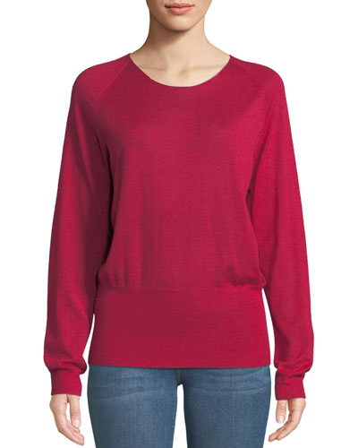Children Scoop-Neck Cashmere Sweater