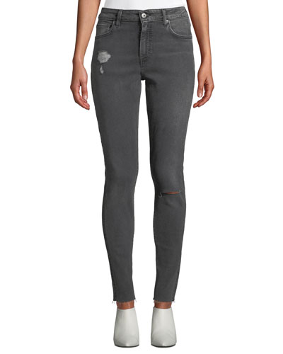 721 Mid-Rise Skinny Ankle Jeans