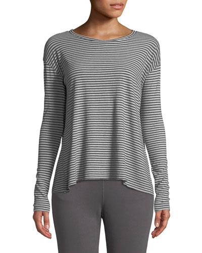 Core Striped Long-Sleeve Tee