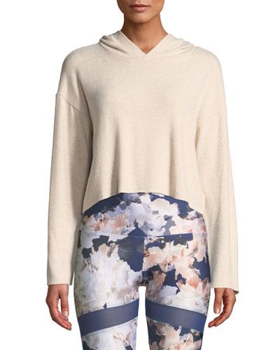 Weekend Cropped Pullover Hoodie
