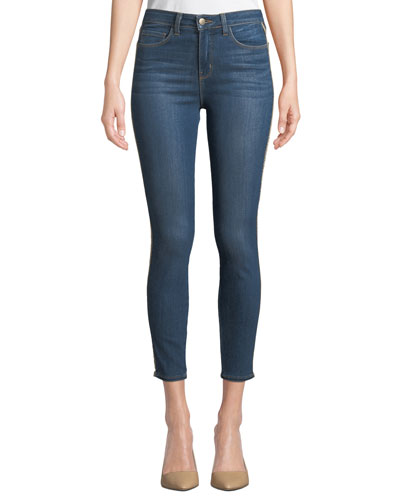 Margot High-Rise Ankle Skinny Jeans